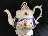 CAREWORN - 'Gaudy Welsh'  style teapot